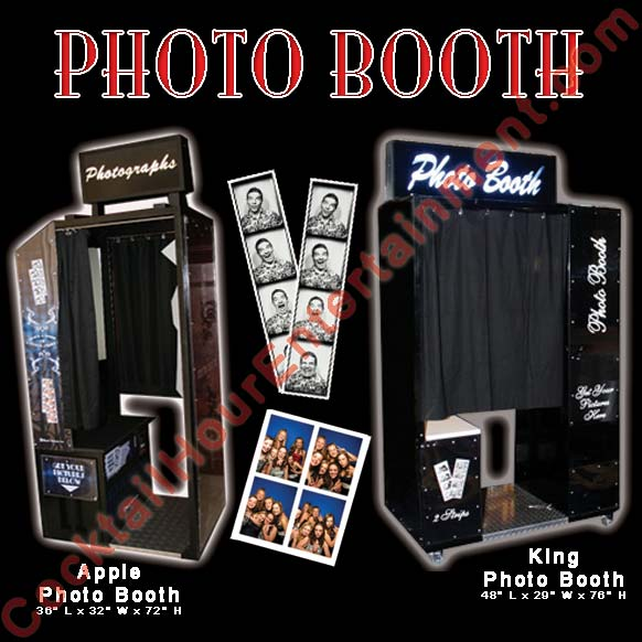 king photo booth and apple photo booth